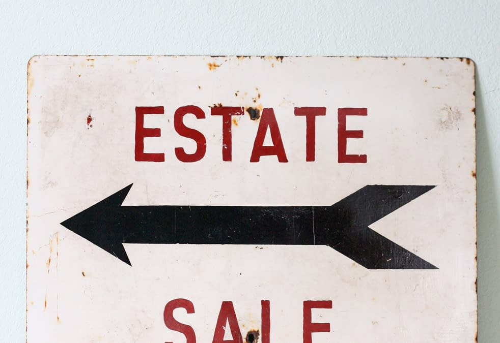 ESTATE CONSULTANT SUGGESTS 5 ITEMS TO BUY AT ESTATE SALES