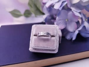 How to Make a Hand Stamped Ring by Little Black Cat